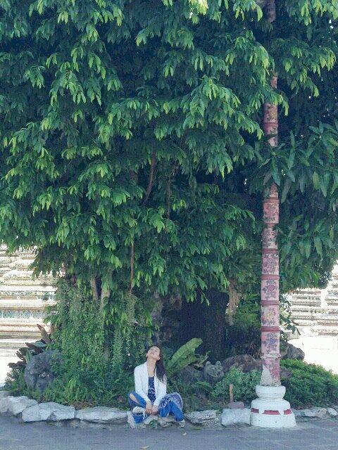 タイに滞在中の竹田夕子
